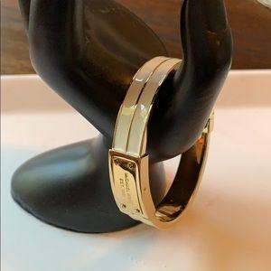 Michael Kors Gold Bangled Bracelet